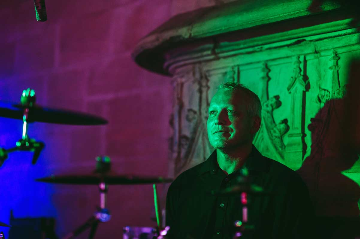 Drummer of soundAWAKE - wedding band South Wales